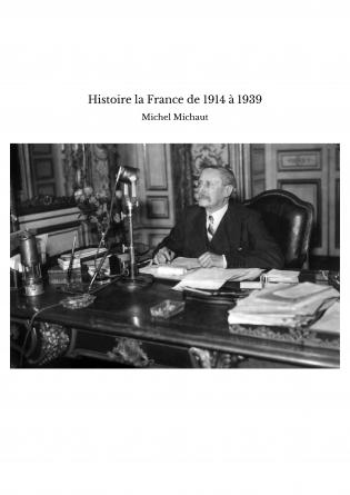 Histoire la France de 1914 à 1939