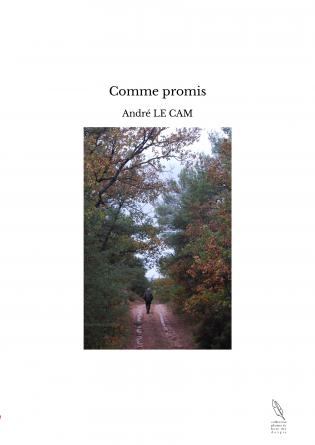 Comme promis