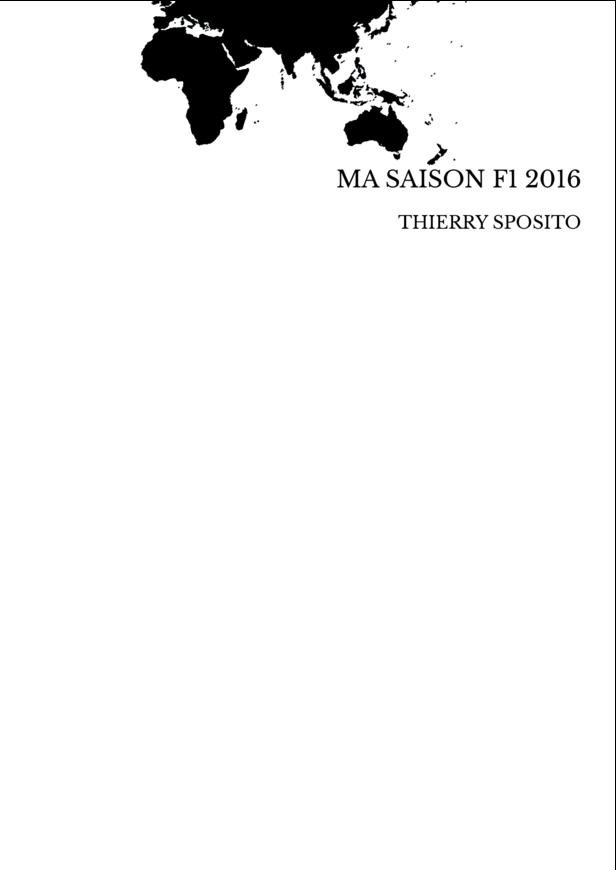 MA SAISON F1 2016