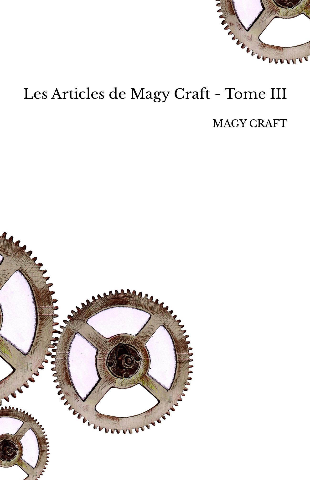 Les Articles de Magy Craft - Tome III