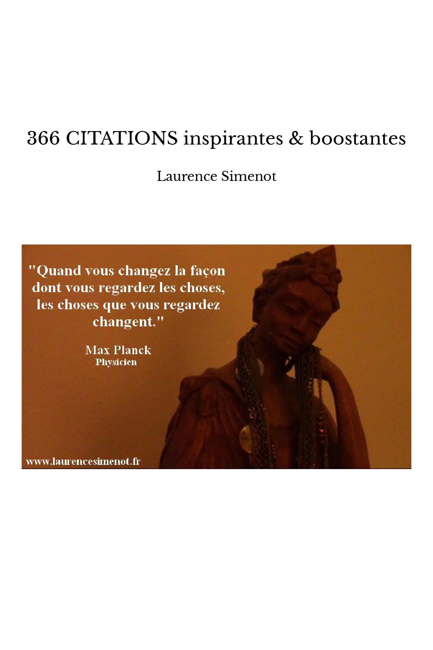 366 CITATIONS inspirantes & boostantes
