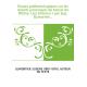 Études paléontologiques sur les dépôts jurassiques du bassin du Rhône. Lias inférieur / par Eug. Dumortier...