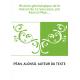 Histoire généalogique de la maison de La Saussaye, par Alonso Péan,...