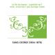 Le lis du Japon : comédie en 1 acte, en prose / par George Sand