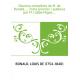 Oeuvres complètes de M. de Bonald,.... Tome premier / publiées par M. l'abbé Migne,...