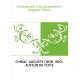 Introduction à la sociométrie / Auguste Chirac