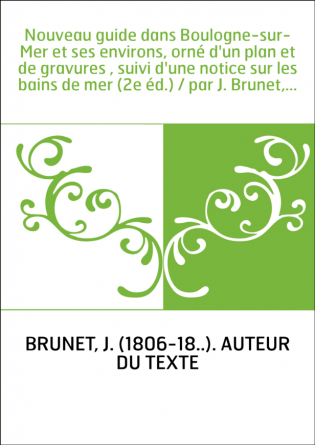 Nouveau guide dans Boulogne-sur-Mer...