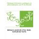 Mélanges littéraires, politiques et philosophiques, par M. de Bonald