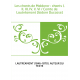Les chants de Maldoror : chants I, II, III, IV, V, VI / Comte de Lautréamont [Isidore Ducasse]