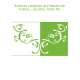 Archives curieuses de l'histoire de France.... 2e série. Tome 11e