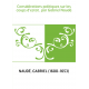 Considérations politiques sur les coups d'estat , par Gabriel Naudé