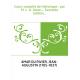 Cours complet de rhétorique , par M. J.-A. Amar,... Seconde édition...