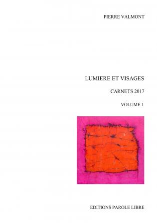 LUMIÈRE ET VISAGES - Carnets 2017 (1)