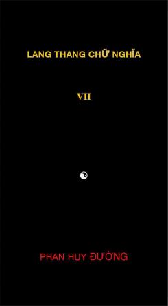 Lang thang chữ nghĩa VII