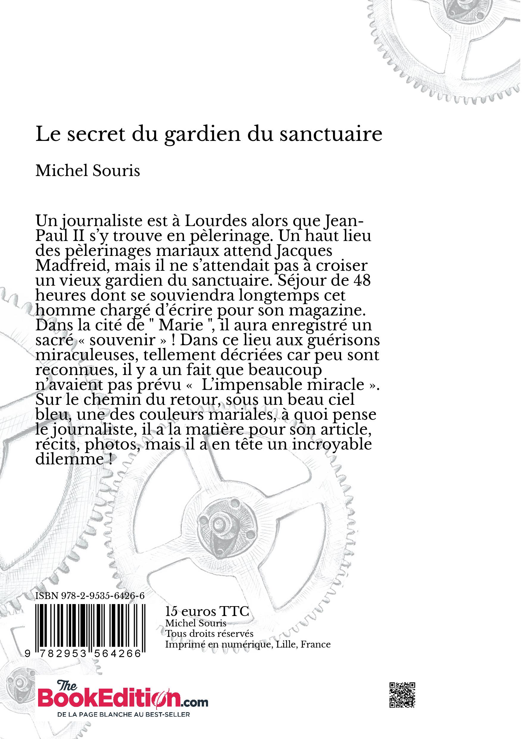 Le secret du gardien du sanctuaire michel souris - Effroyables jardins michel quint resume complet ...
