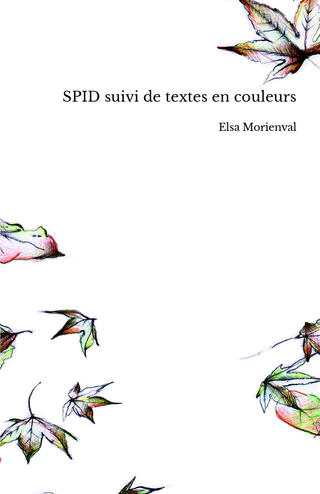 SPID suivi de textes en couleurs