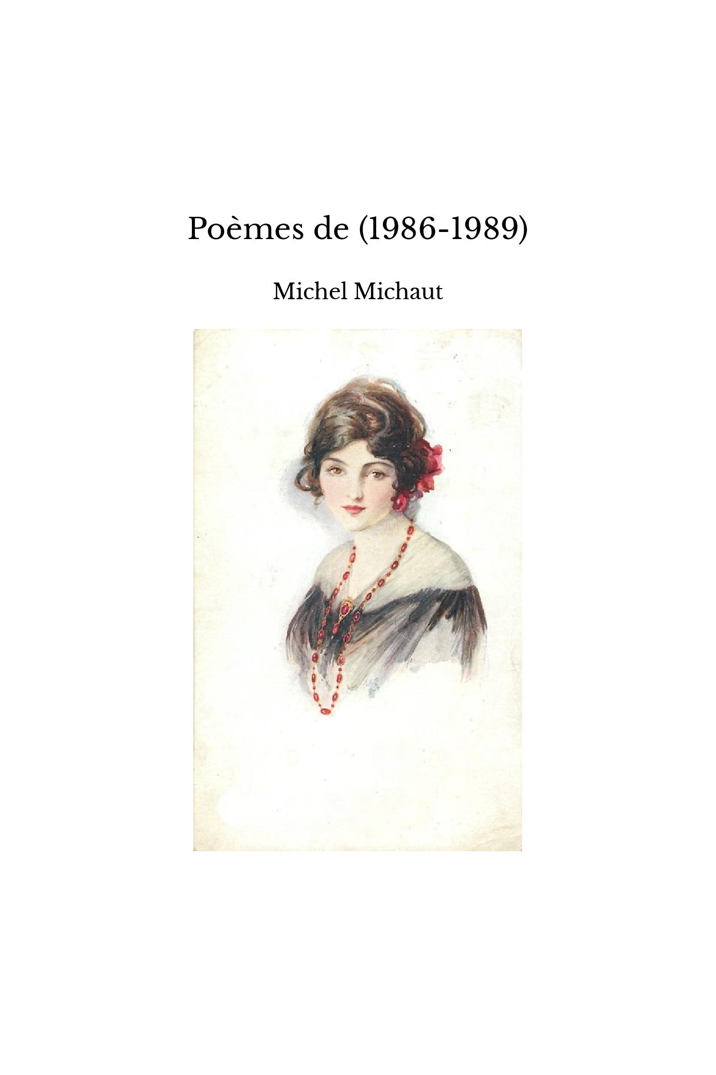 Poèmes de (1986-1989)