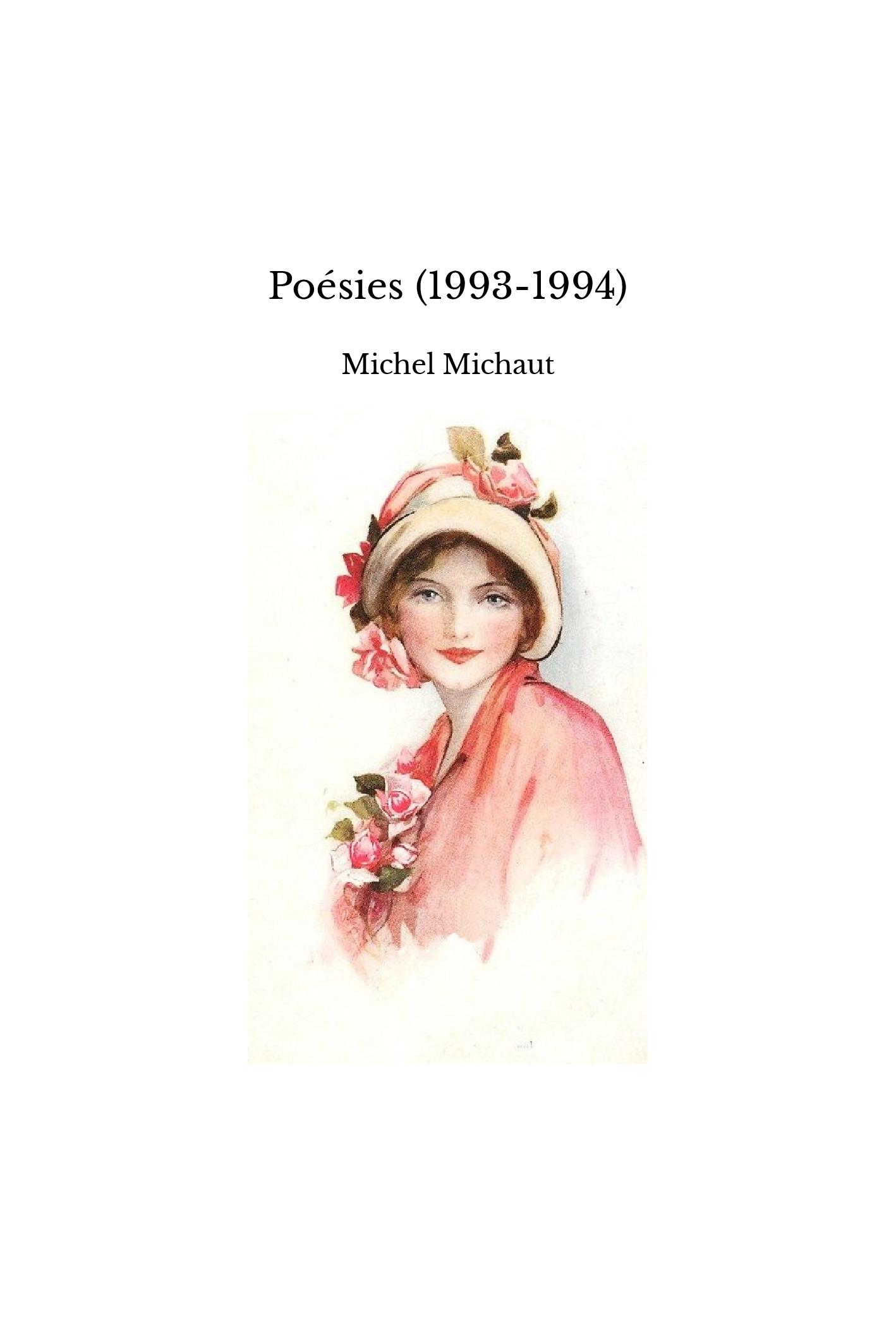 Poésies (1993-1994)