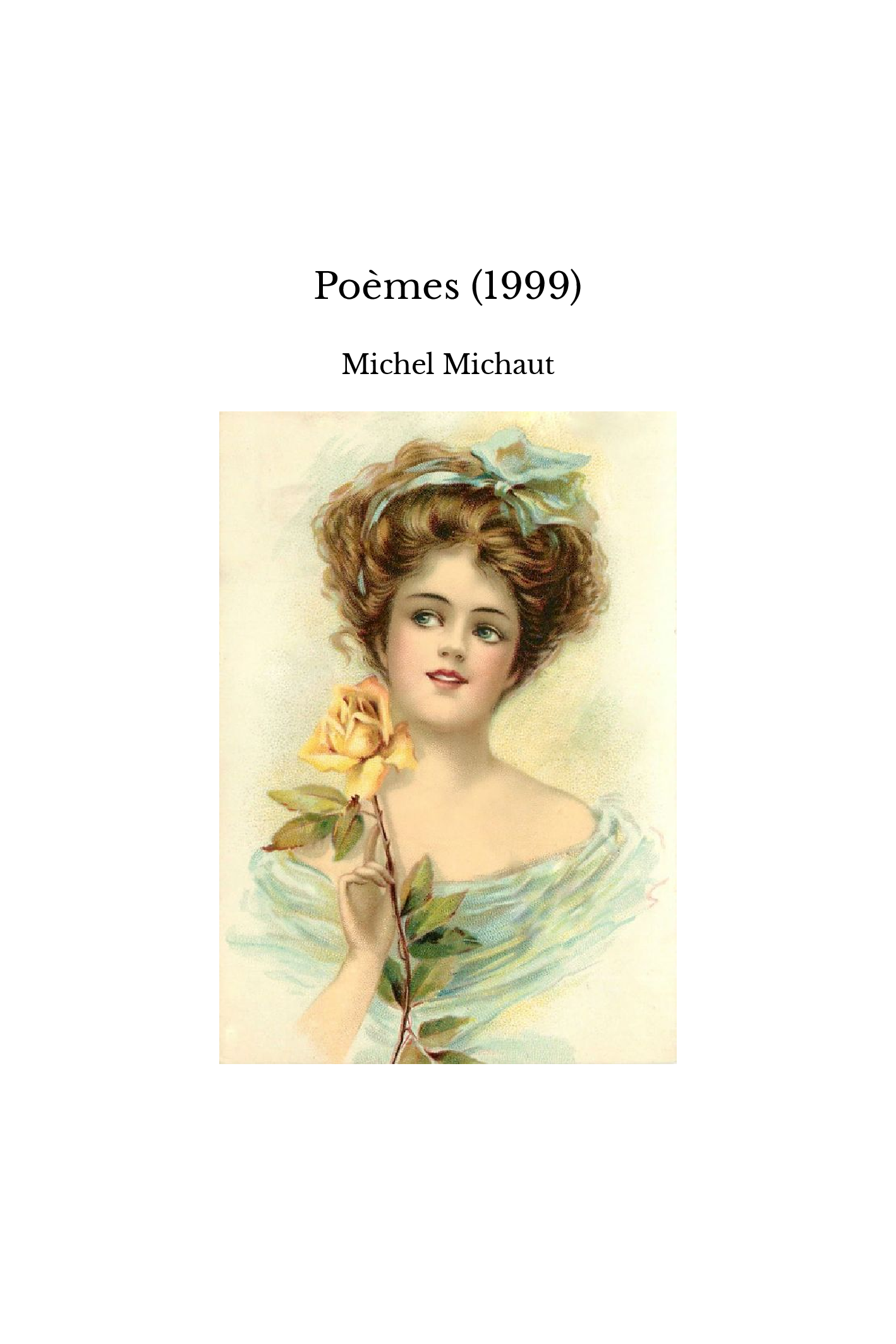 Poèmes (1999)