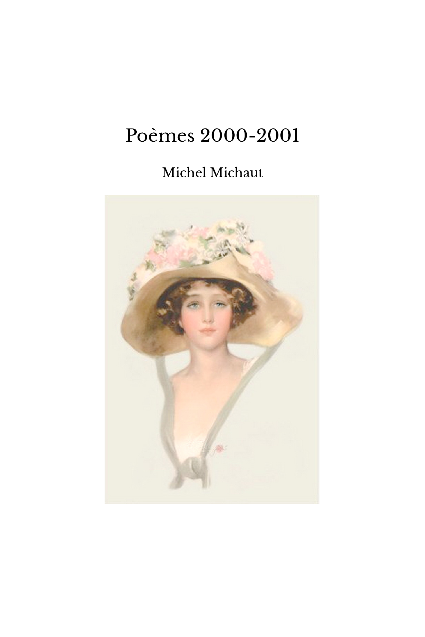 Poèmes 2000-2001