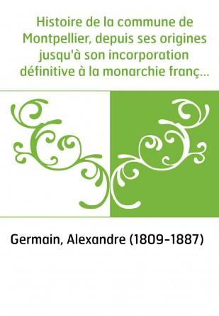 Histoire de la commune de...