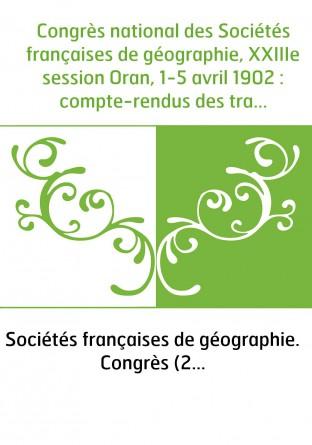 Congrès national des Sociétés...