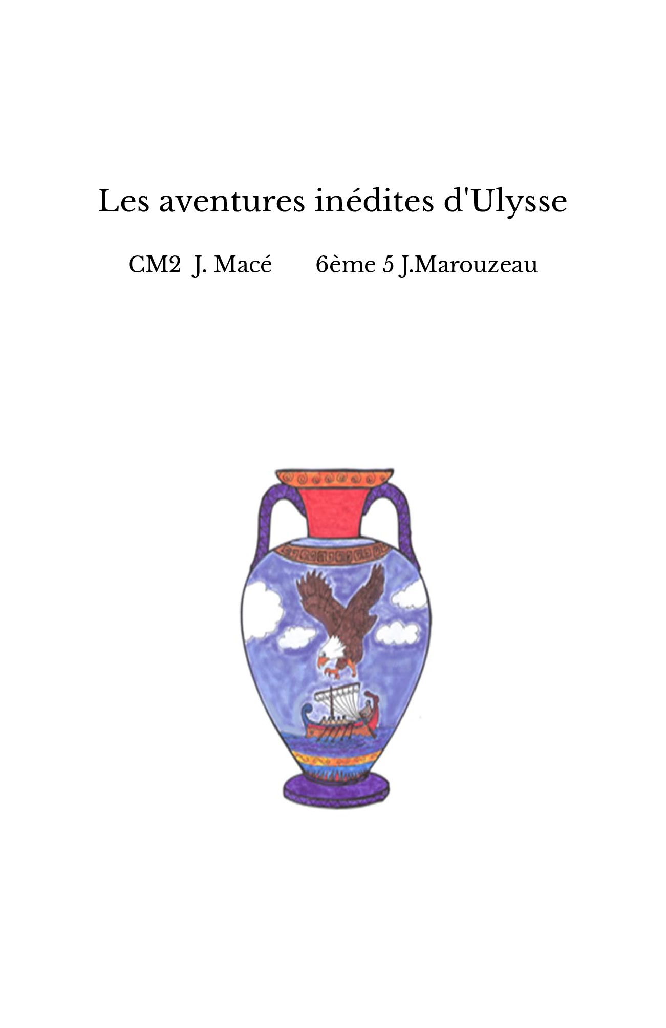 Les aventures inédites d'Ulysse