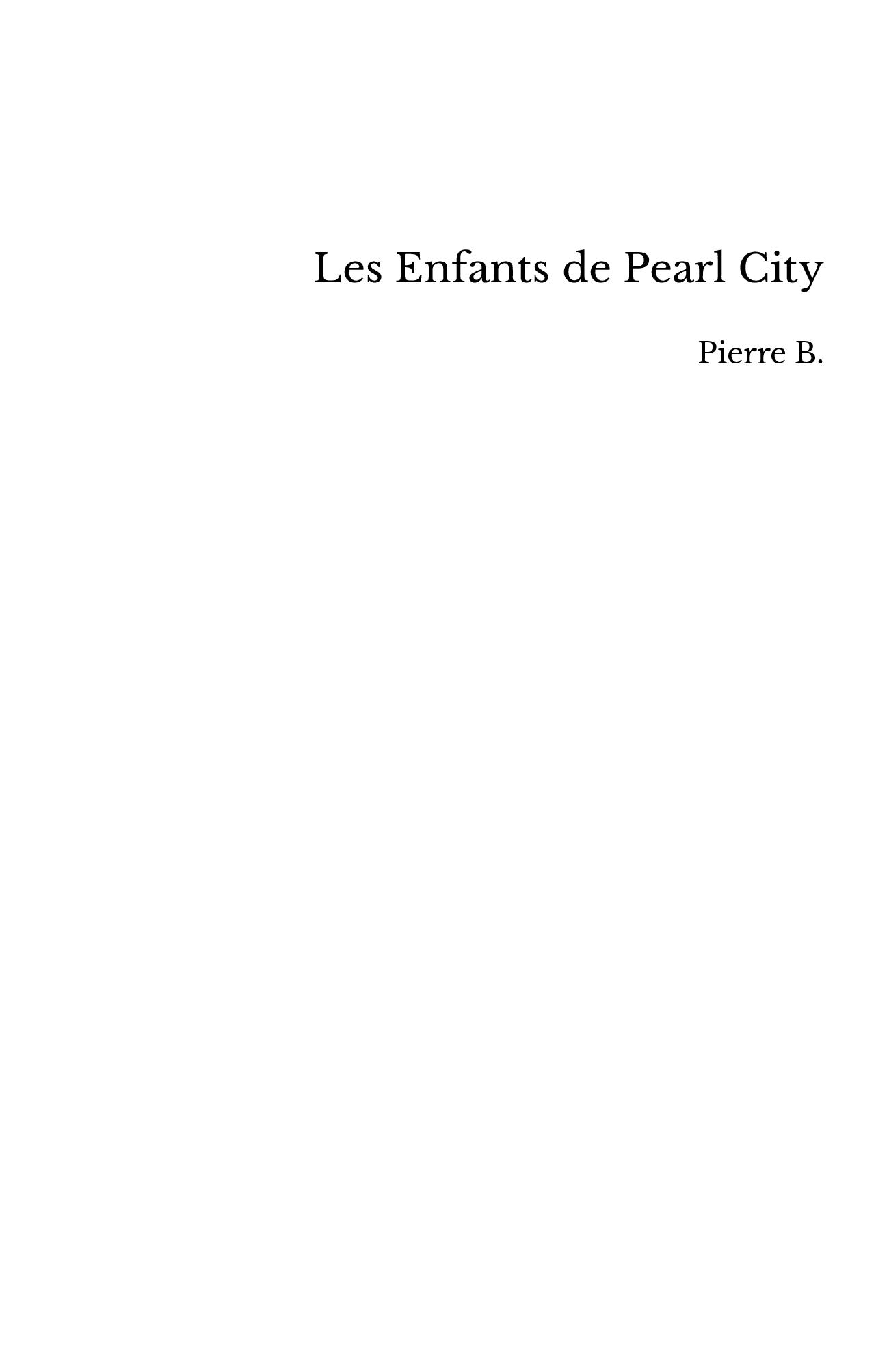 Les Enfants de Pearl City