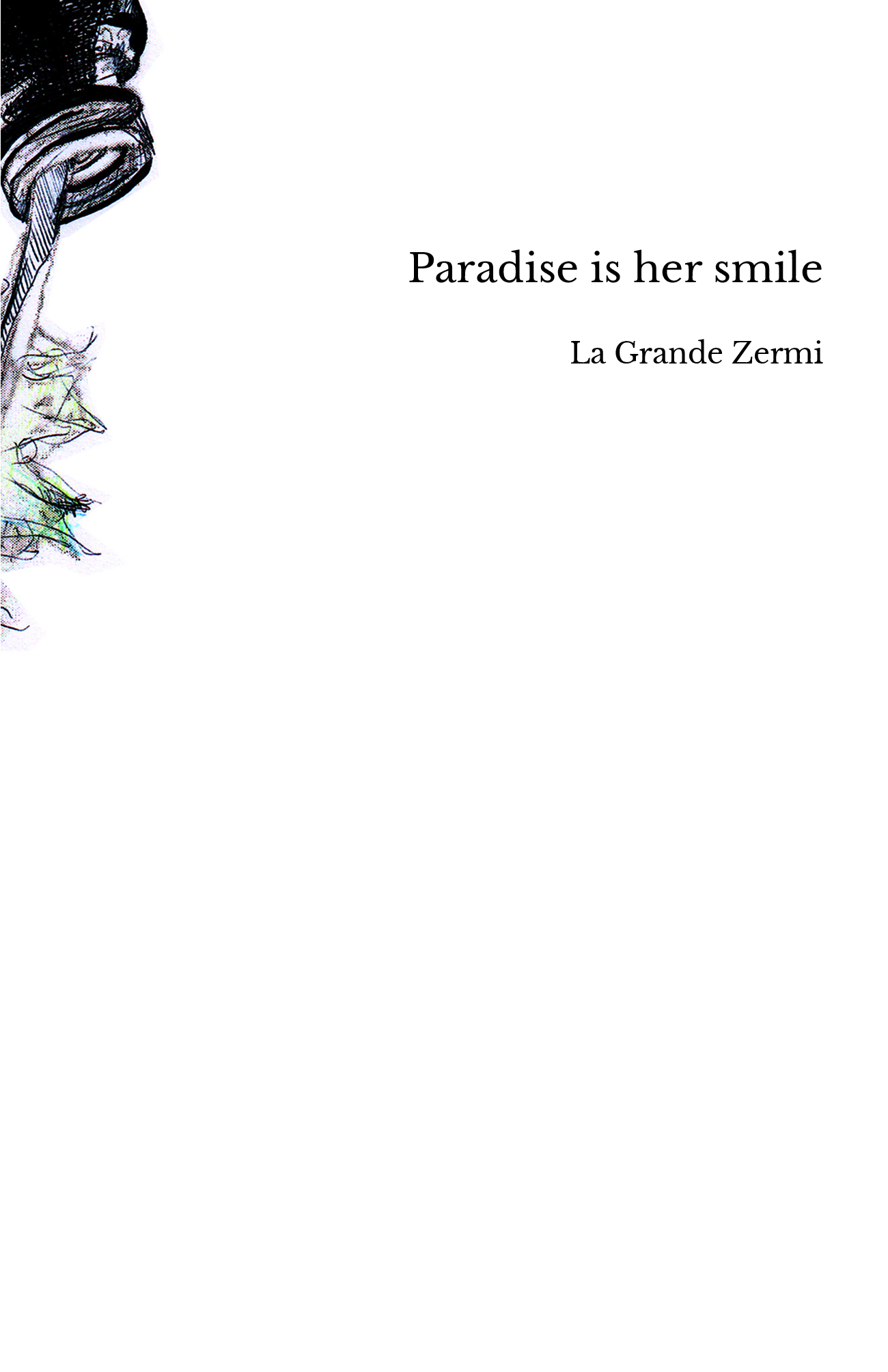 Paradise is her smile