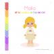 Malia et les couleurs de l'arc-en-ciel
