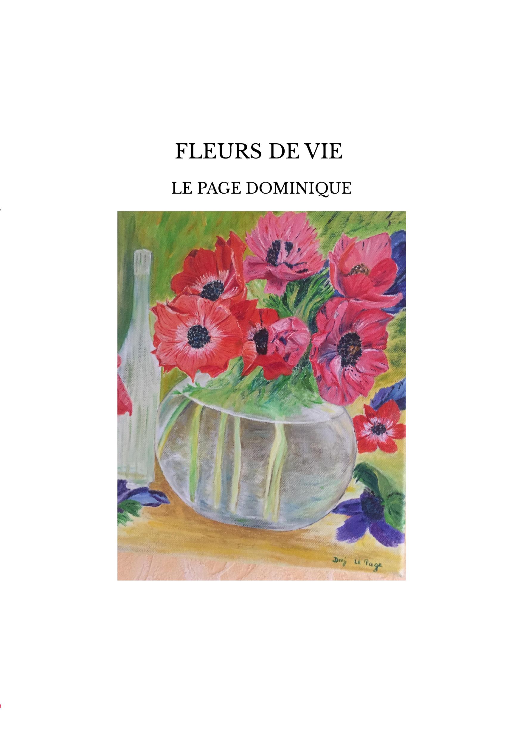 FLEURS DE VIE