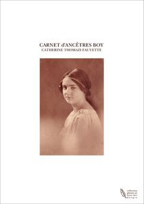 CARNET d'ANCETRES BOY