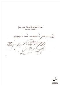 Journal d'une insurrection