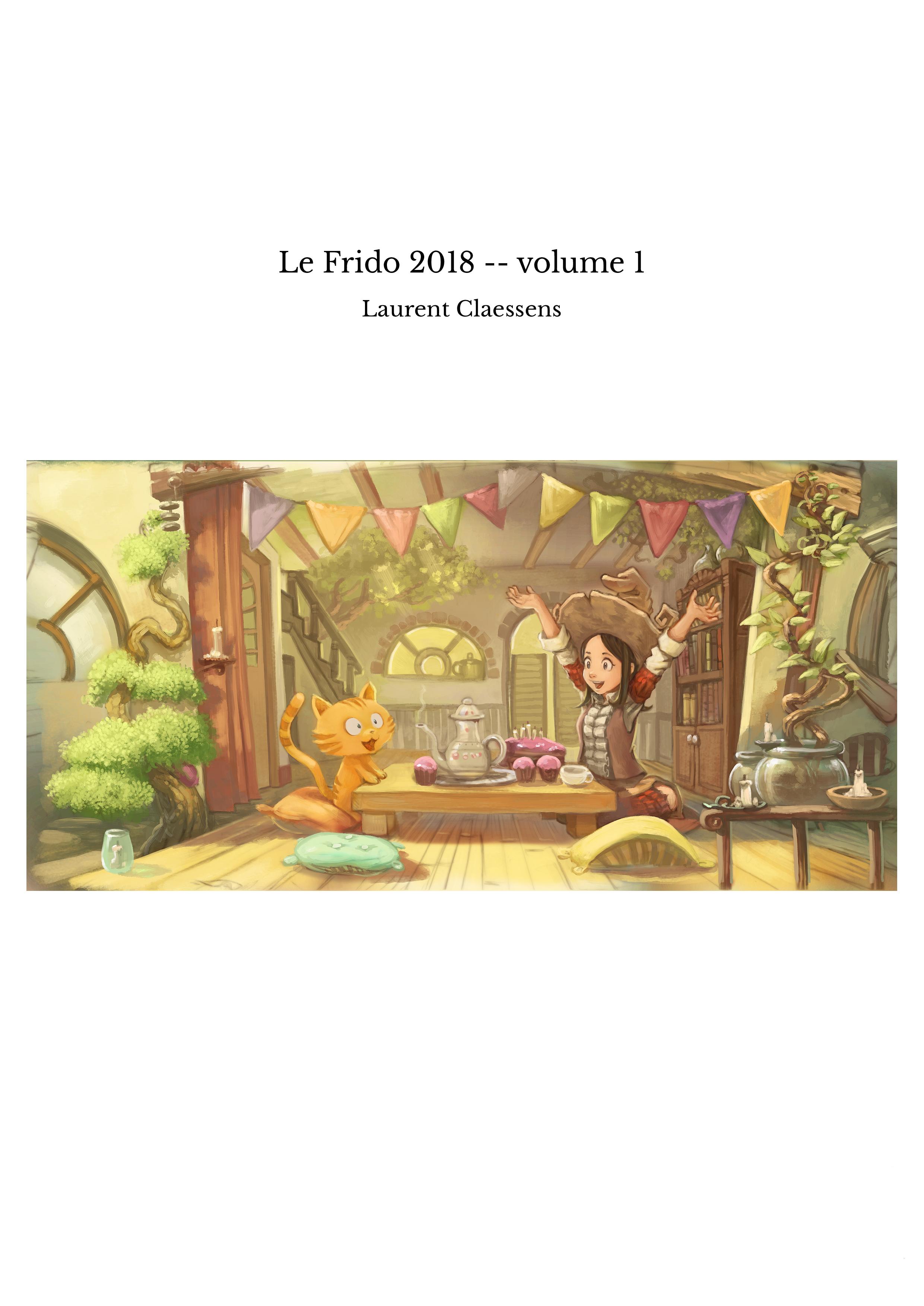 Le Frido 2018 -- volume 1