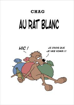 Au Rat Blanc - Version Noir et blanc