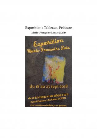 Exposition : Tableaux, Peinture