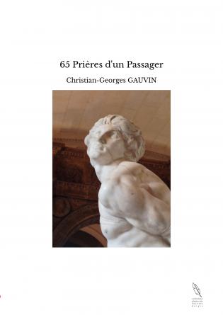 65 Prières d'un Passager