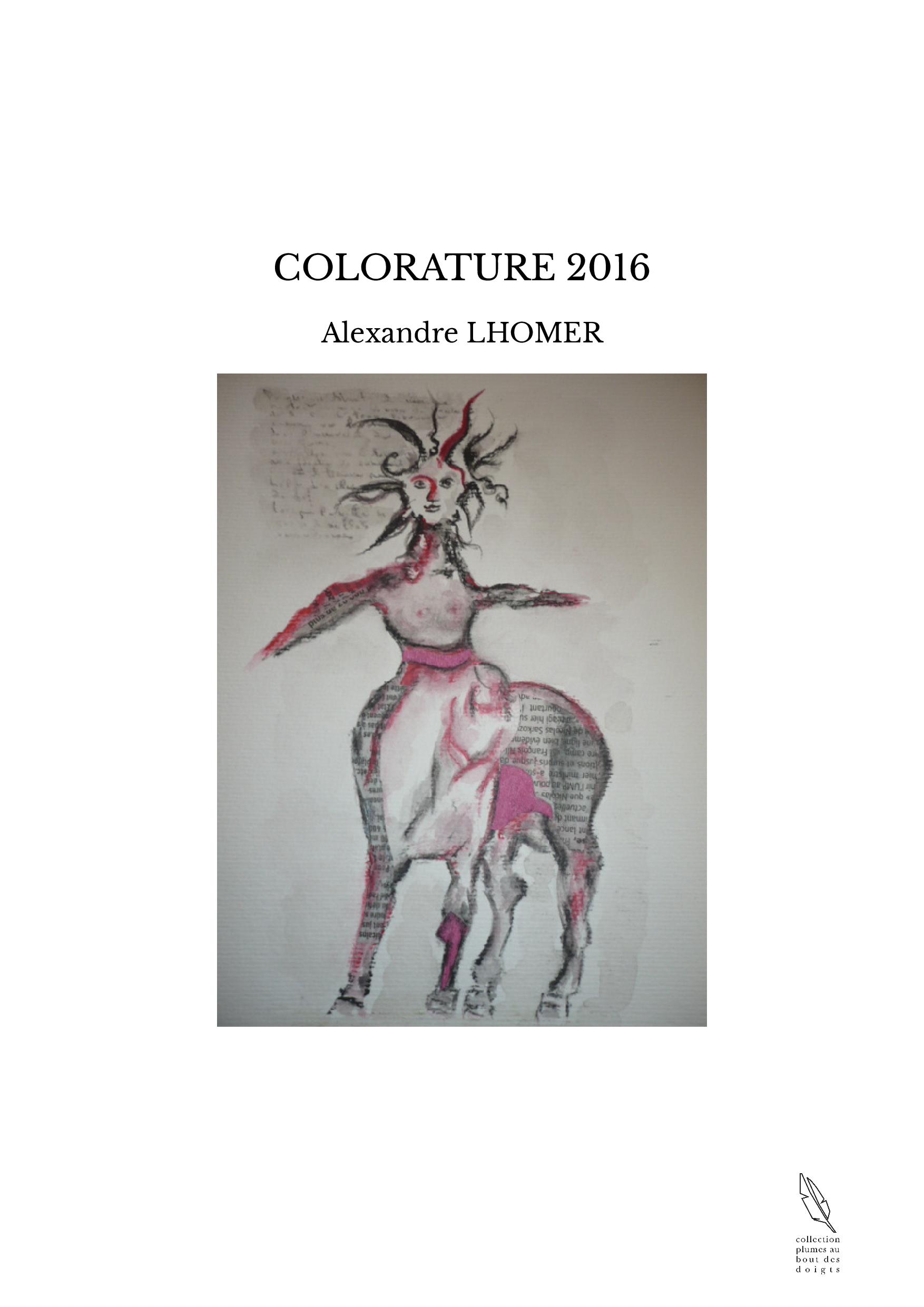 COLORATURE 2016