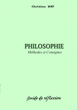 PHILOSOPHIE (Méthodes et Consignes)