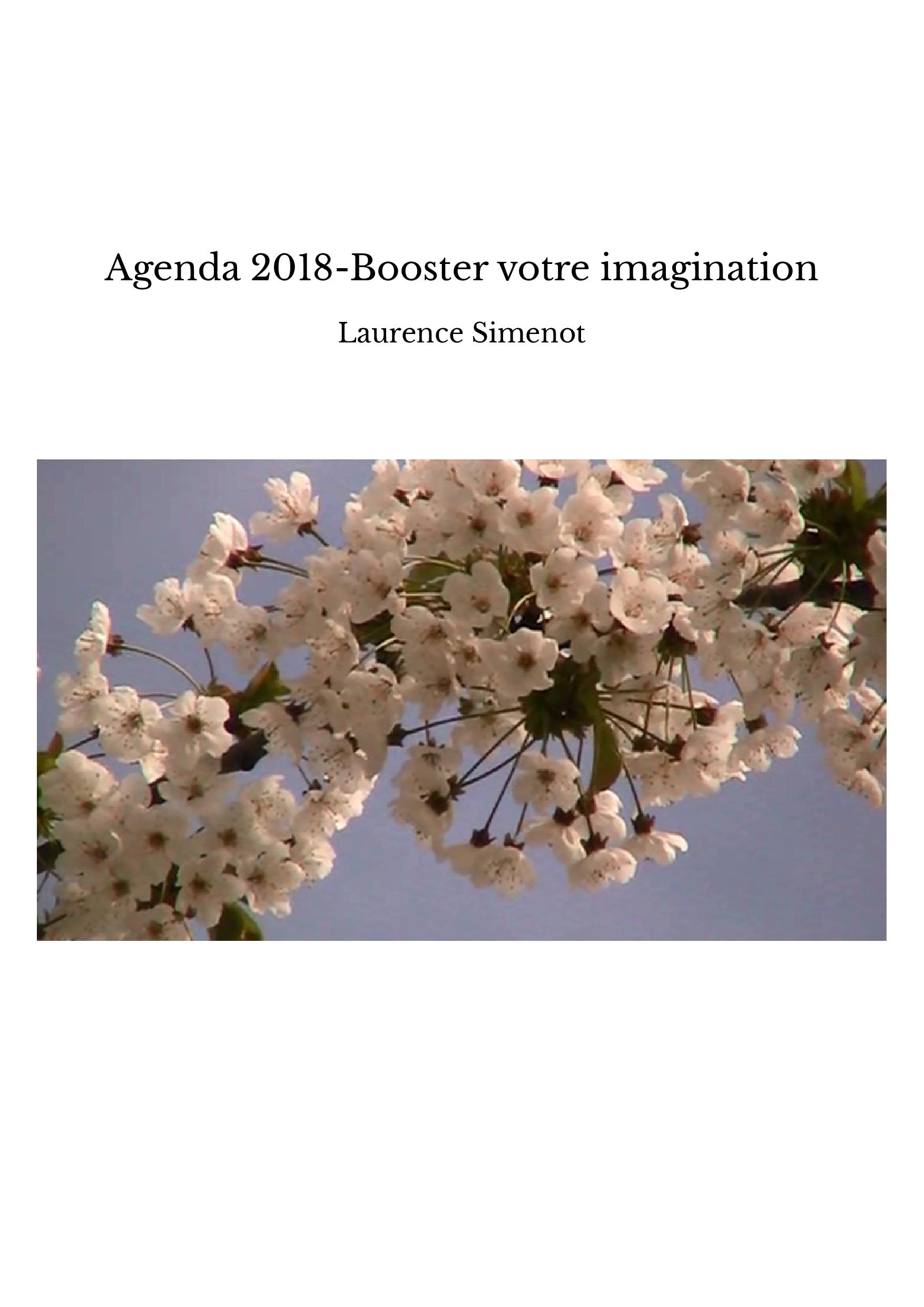 Agenda 2018-Booster votre imagination