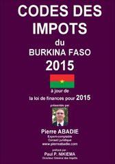 Codes des impôts du BF 2015