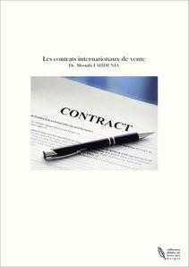 Les contrats internationaux de vente