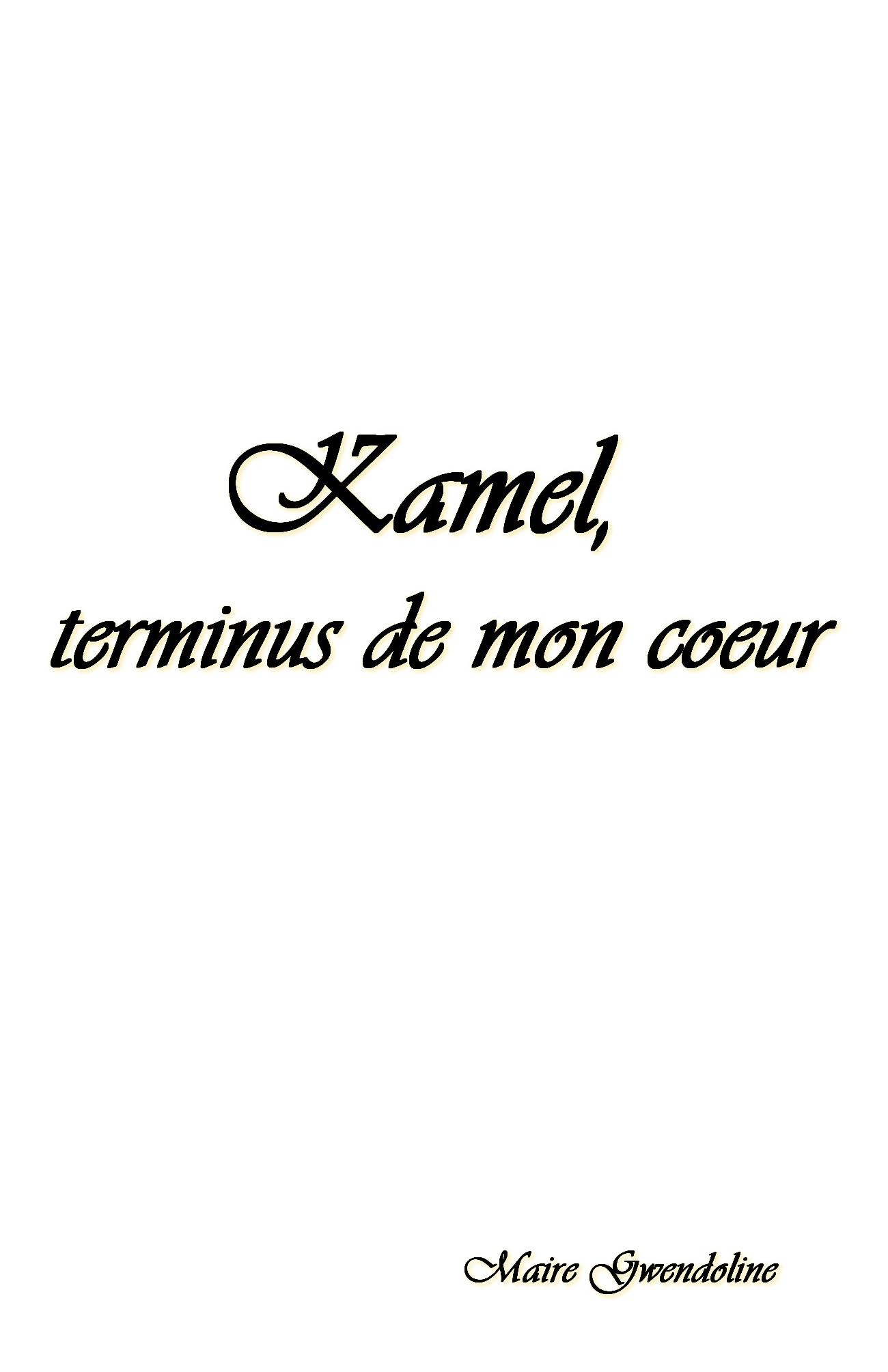 Kamel, terminus de mon coeur