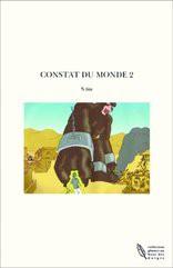 CONSTAT DU MONDE 2
