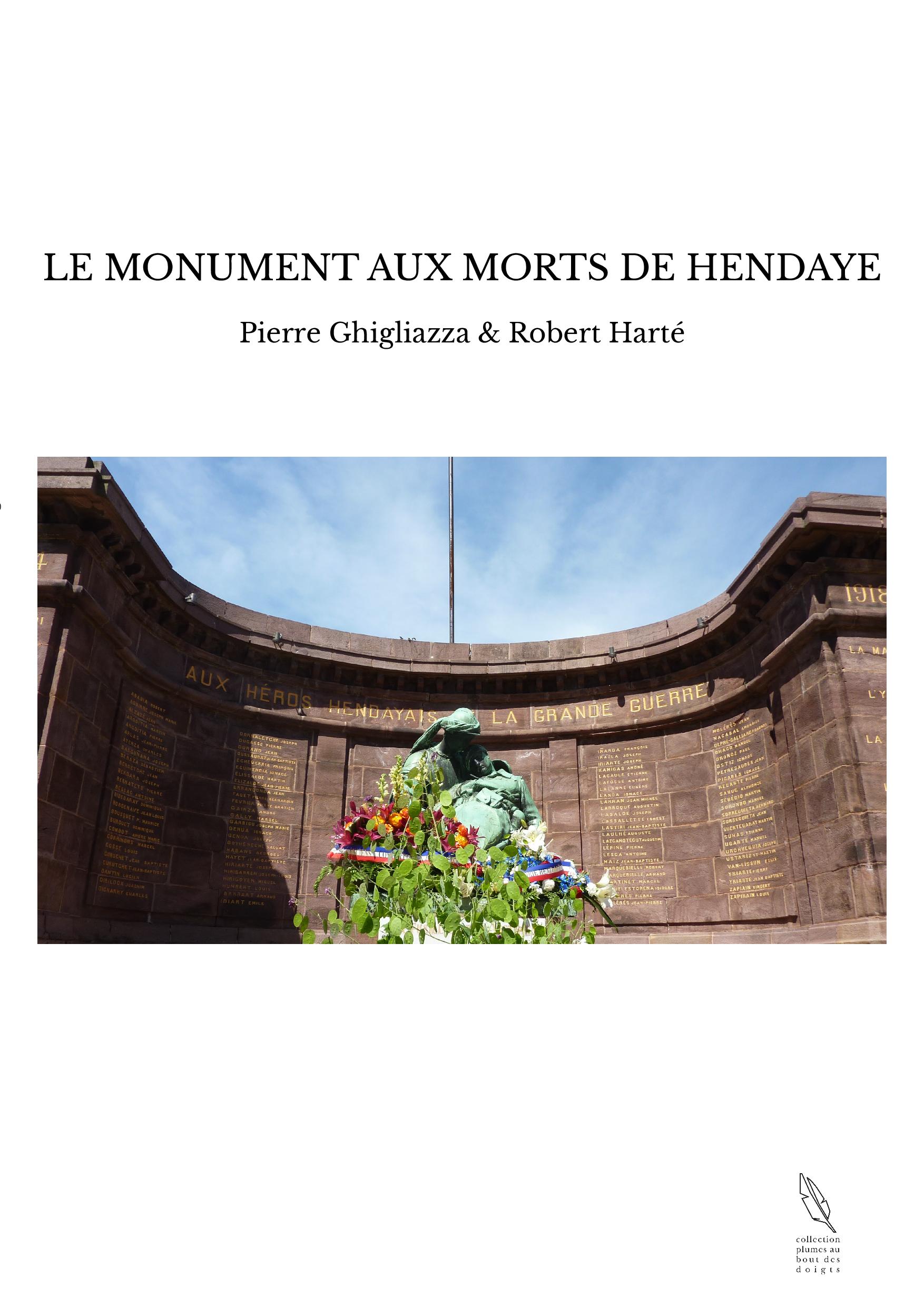LE MONUMENT AUX MORTS DE HENDAYE
