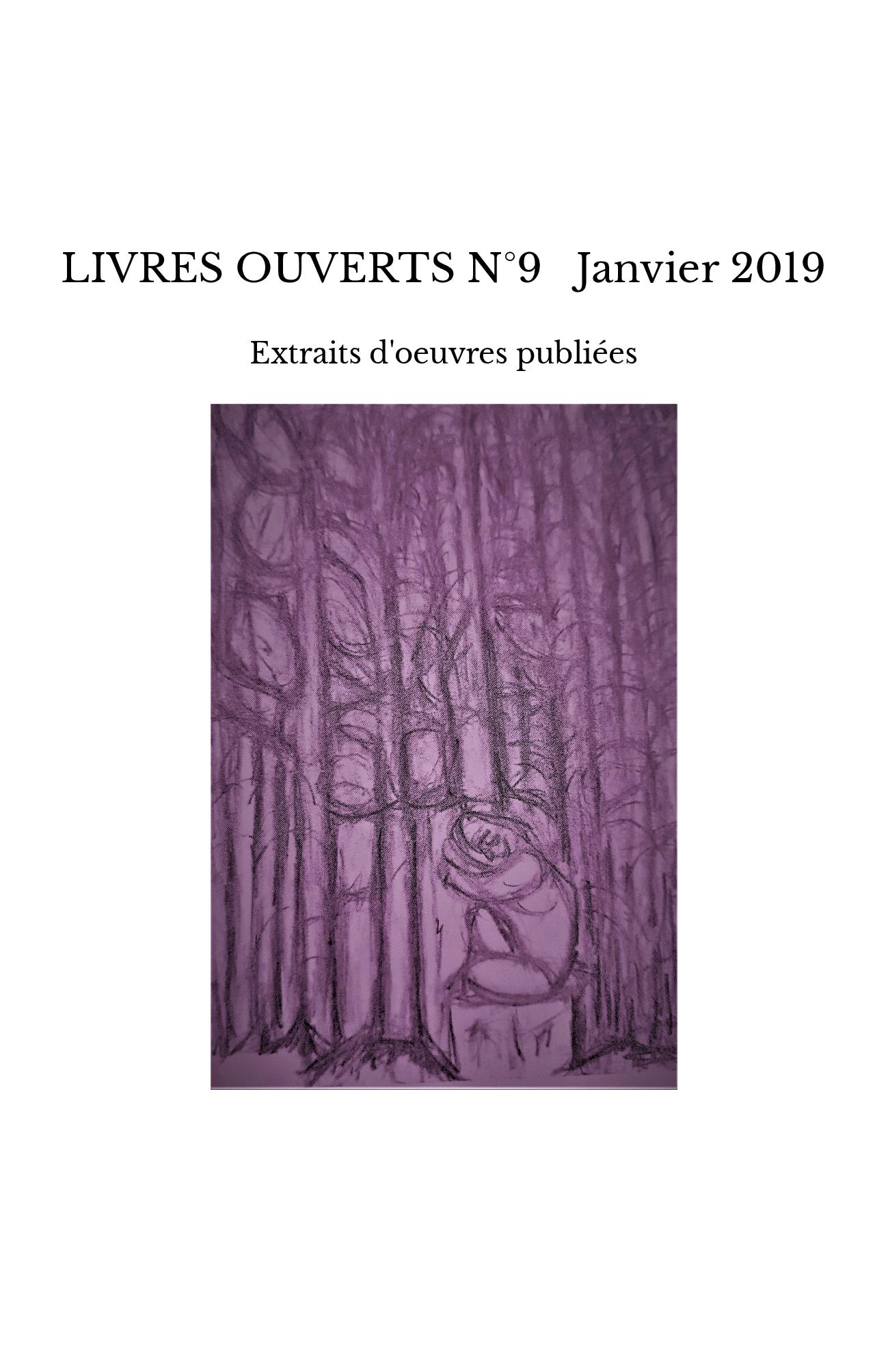 LIVRES OUVERTS N°9 Janvier 2019
