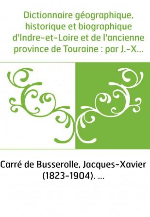 Dictionnaire géographique, historique...