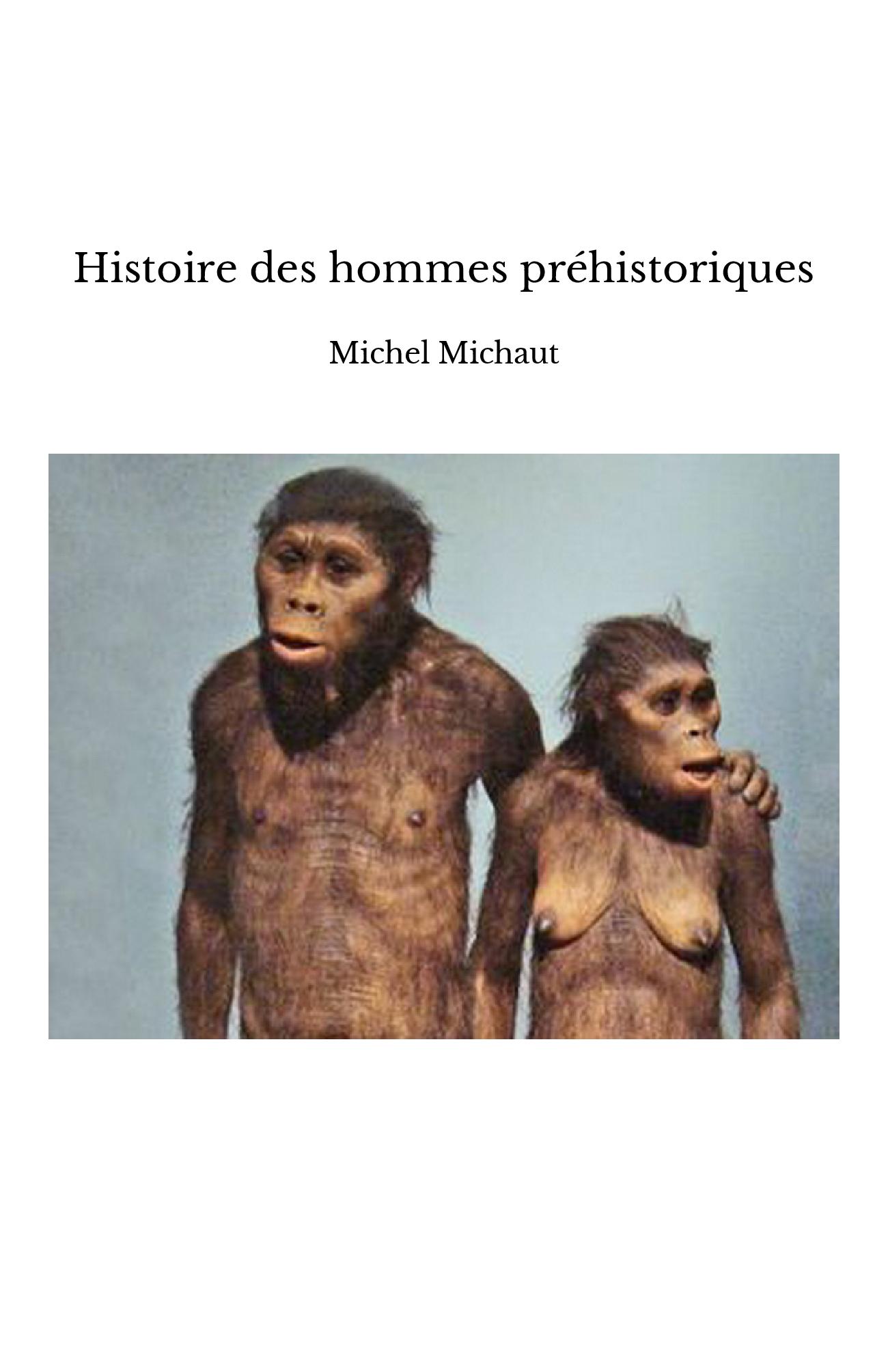 Histoire des hommes préhistoriques