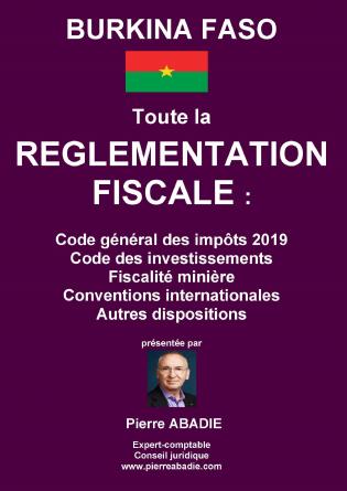 Règlementation fiscale du Burkina Faso