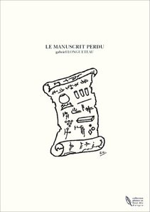 LE MANUSCRIT PERDU